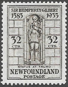 Newfoundland Scott Number 225 VF HR