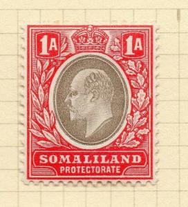Somaliland Protectorate 1904 Early Issue Fine Mint Hinged 1a. 297789