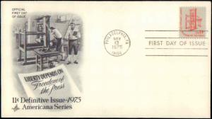 United States, Pennsylvania, First Day Cover