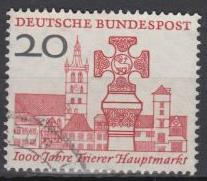 Germany-1958 Millenium of the market of Trier  Mi# 290(1649)