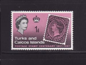 Turks and Caicos Islands 172 MNH Stamps on Stamps (A)