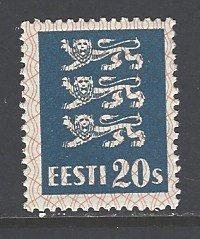 Estonia Sc # 99 mint hinged (DT)