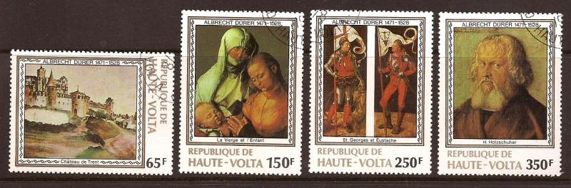 Burkina Faso  # 481 - 84  used  CTO     A