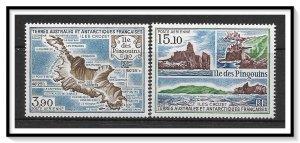 FSAT #C100-C101 Airmail Set MNH