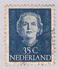 Netherlands 314 Used Queen Juliana 1949 (BP32422)