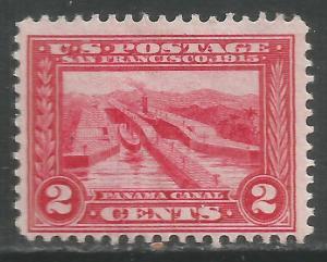 UNITED STATES  398 MOG PANAMA CANAL 1913 P34