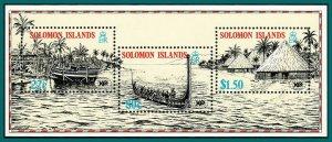 Solomon Islands 1988 Expo World Fair, MS MNH #613a,SGMS621