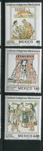 Mexico #1290-2 Mint