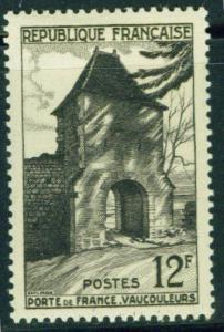 France Scott 676 MH* 1952 Gate of France, Vaucouleurs