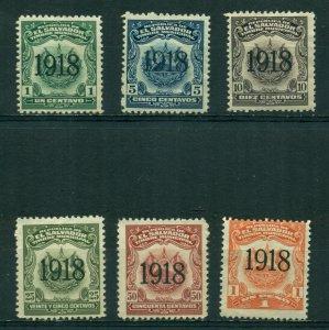 El Salvador 1918 Timbre Municipal Lot BIN = $2.00