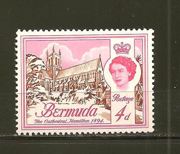 Bermuda 178 Cathedral  Mint Hinged