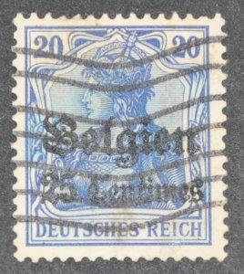 DYNAMITE Stamps: Belgium #N18 – USED