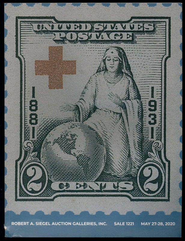 Auction Catalog: Siegel Sale 1221 - U.S. Stamps. May 27-28, 2020