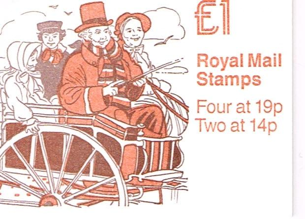 Great Britain Booklet Stanley Gibbons FH15