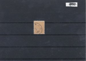 Norway 1867 2 Skilling Buff Used Stamp CAT£55 Ref: R7491
