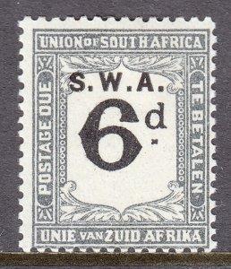 South West Africa - Scott #J80 - MH - SCV $7.50