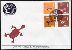 ANGOLA SCOTT 883-886