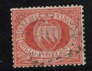 San Marino Scott 11 Used 1877 stamp