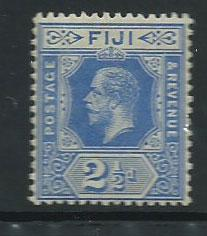 Fiji  GV  SG 129  MVLH  bright blue
