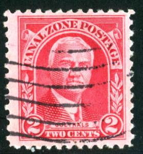 Canal Zone - SC #106 - Used - 1928-40 - Item CZ011