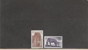 FAROE ISLANDS 254-255 MNH 2014 SCOTT CATALOGUE VALUE $6.60