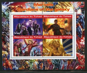 Chad 2021 Marvel's Guardians of the Galaxy sheet mint nh