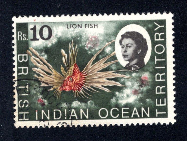 British Indian Ocean Territory, Scott 33  VF,  Used, CV $7.50 ..... 0870026