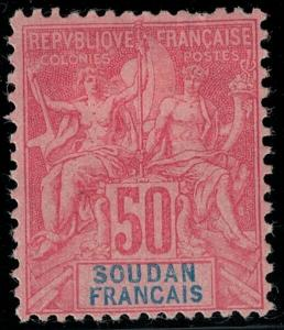 French Sudan 1894 SC 16 Mint SCV $55.00