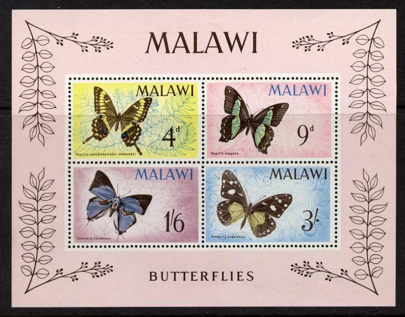 Malawi 40a MNH Butterflies