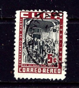 Cuba C80 Used 1953 issue