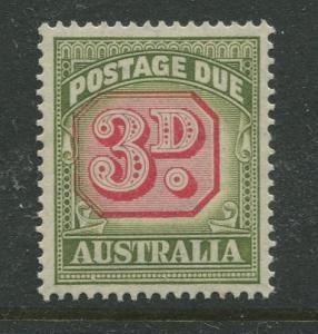 Australia - Scott J74 -Postage Due Issue -1946- Wmk 228 - MNH -Single 3d stamp