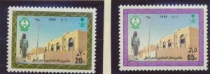 Saudi Arabia Stamps Scott #980 To 981, Mint Never Hinged - Free U.S. Shipping...
