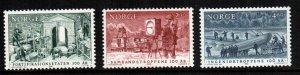 Norway  925 - 927  MNH $ 5.15