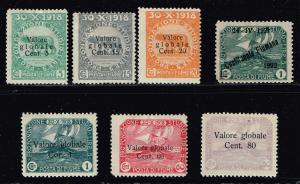 ITALY STAMPS COLLECTION LOT #T6  FIUME