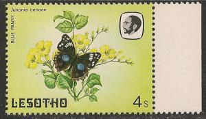 Lesotho #424 (SG #566) VF MNH - 1984 4s Butterfly