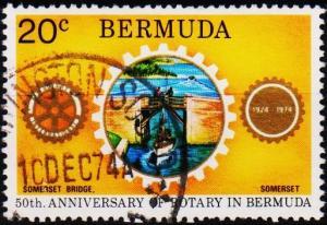 Bermuda. 1974 20c S.G.322 Fine Used