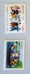 UN, Geneva - 158-59, MNH Set. UN Day. SCV - $1.35