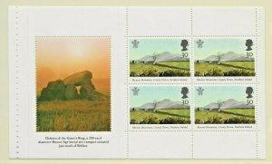 DX16 -1994 NORTHERN IRELAND PRESTIGE BOOKLET PANE1812a