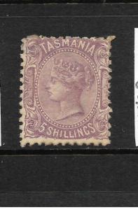 TASMANIA  1871-78  5/-     QV   MLH       SG 149