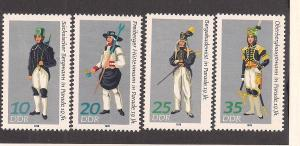 GERMANY - DDR SC# 1906-9 VF MNH 1978
