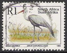 South Africa #864 Endangered Fauna Used