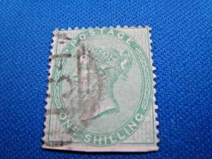 GREAT BRITAIN  -  SCOTT #28a  -  Used      (brig)