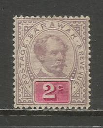 Sarawak   #9  MHR  (1888)  c.v. $7.00