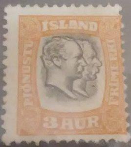ICELAND Scott Cat #O31* (1902)