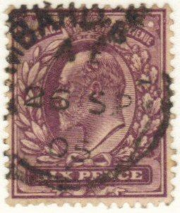 Great Britain #135 used - 6p king