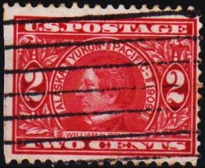 U.S.A. 1909 2c S.G.377 Fine Used