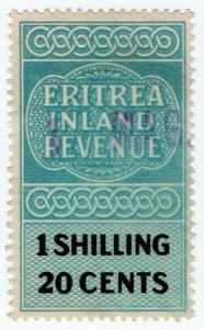 (I.B) BOIC (Eritrea) Revenue : Inland Revenue 1/- 20c