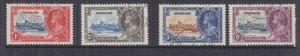 SWAZILAND., 1935 Silver Jubilee set of 4, used.