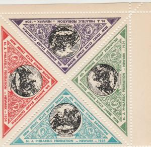 New Jersey State Stamp Show 1934 (S1001L)