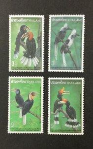 THAILAND #1658-1661, 1996 set of 4 VF MNH. Birds. CV $2.90. (BJS)